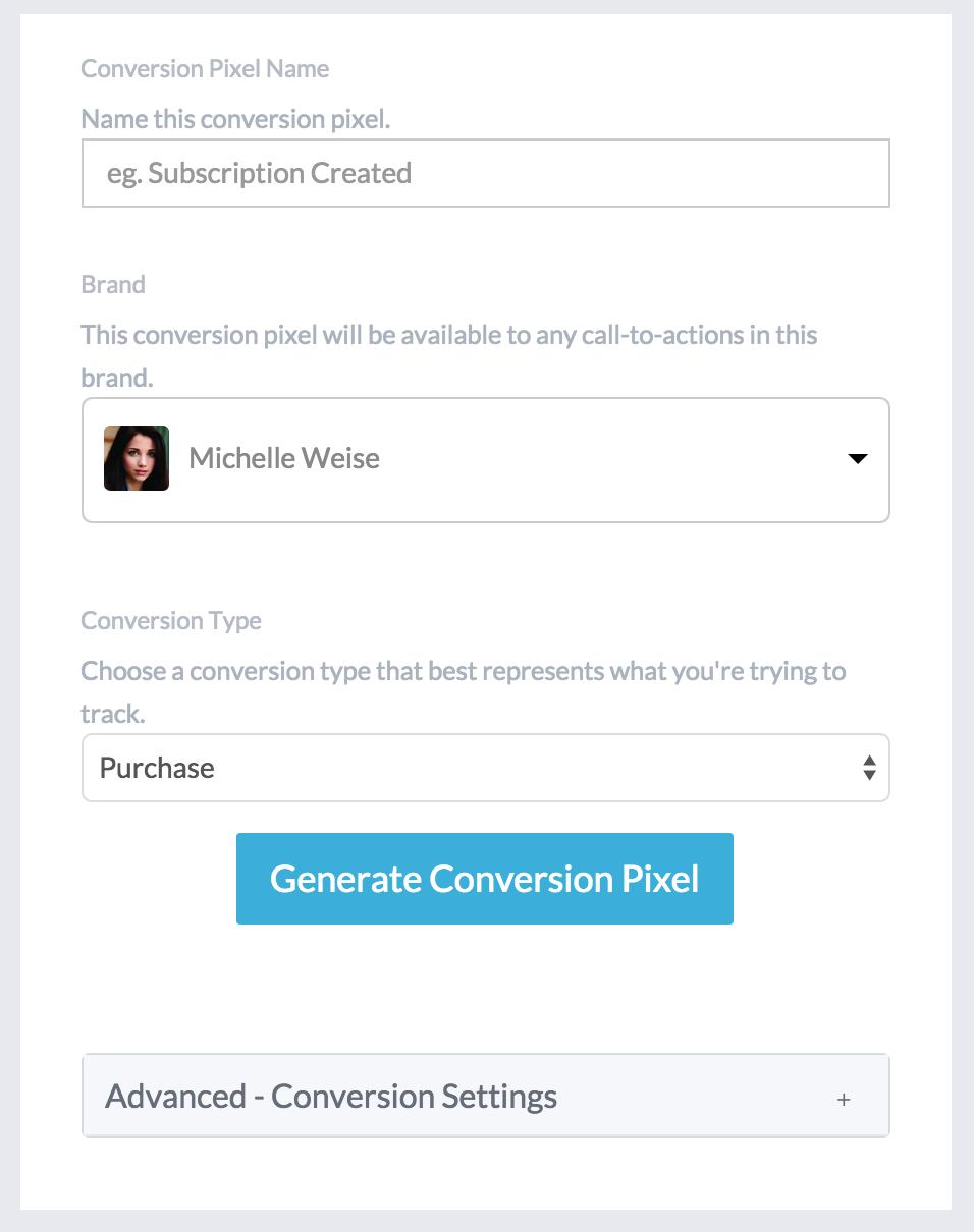 How do I setup a Conversion Pixel? – Help Center